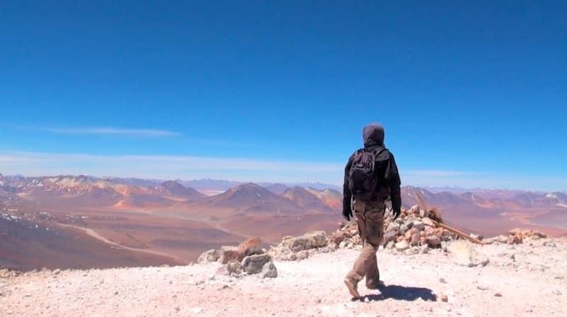 sommet du Volcan Licancabour - Bolivie