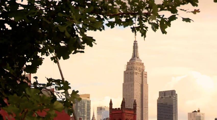 vue sur empire state building de la high line