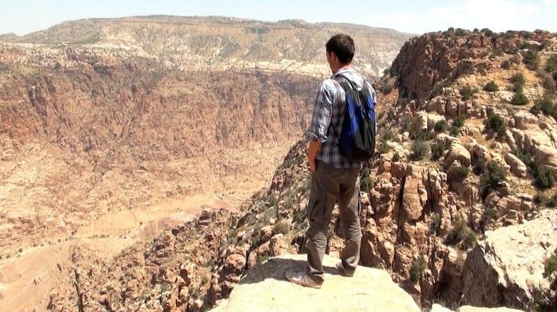 panorama alex vallée de dana Jordanie