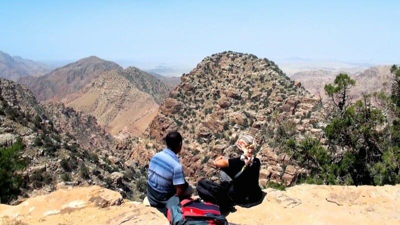 panorama canyon vallée de dana Jordanie