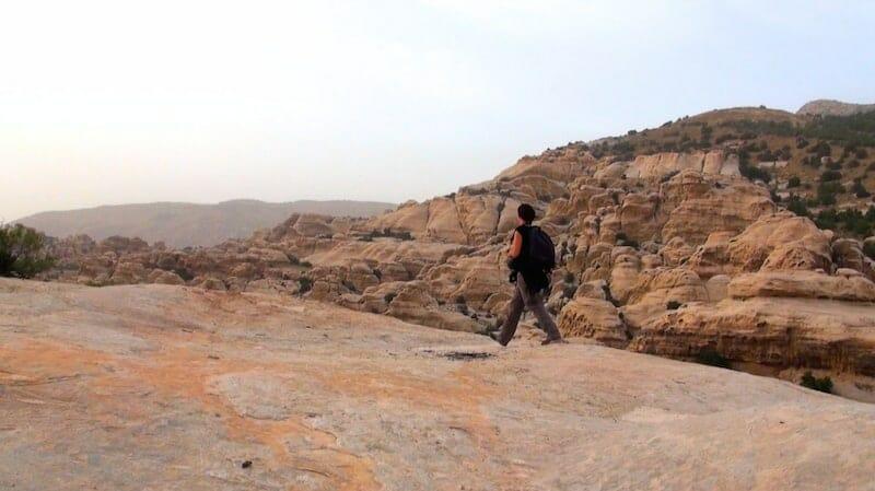 paysage vallée de dana jordanie