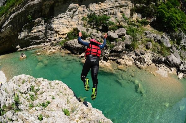 canyioning gorges du verdon