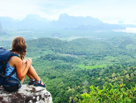voyager seule quand on est une fille