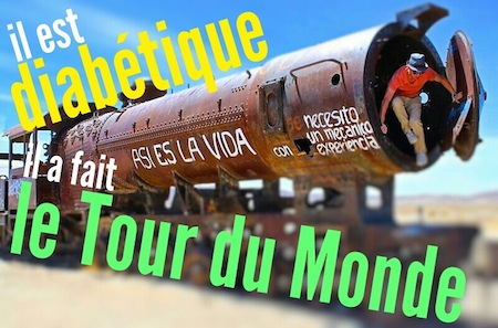 tour du monde diabétique