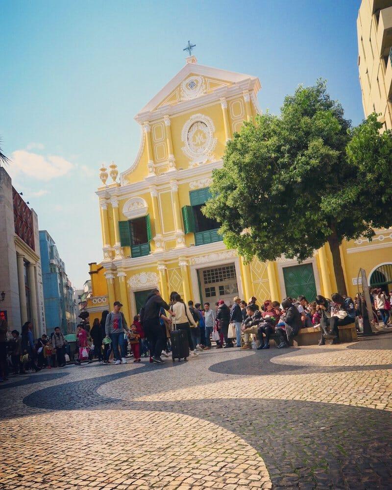 centre historique a faire macao