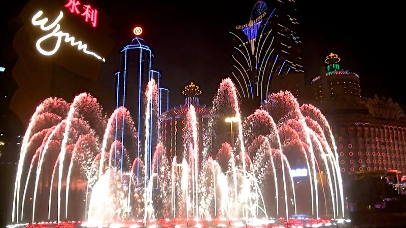 spectable lumiere a faire macao