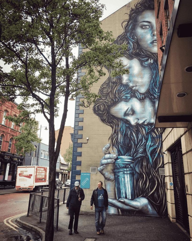 fresque graffiti irlande du nord