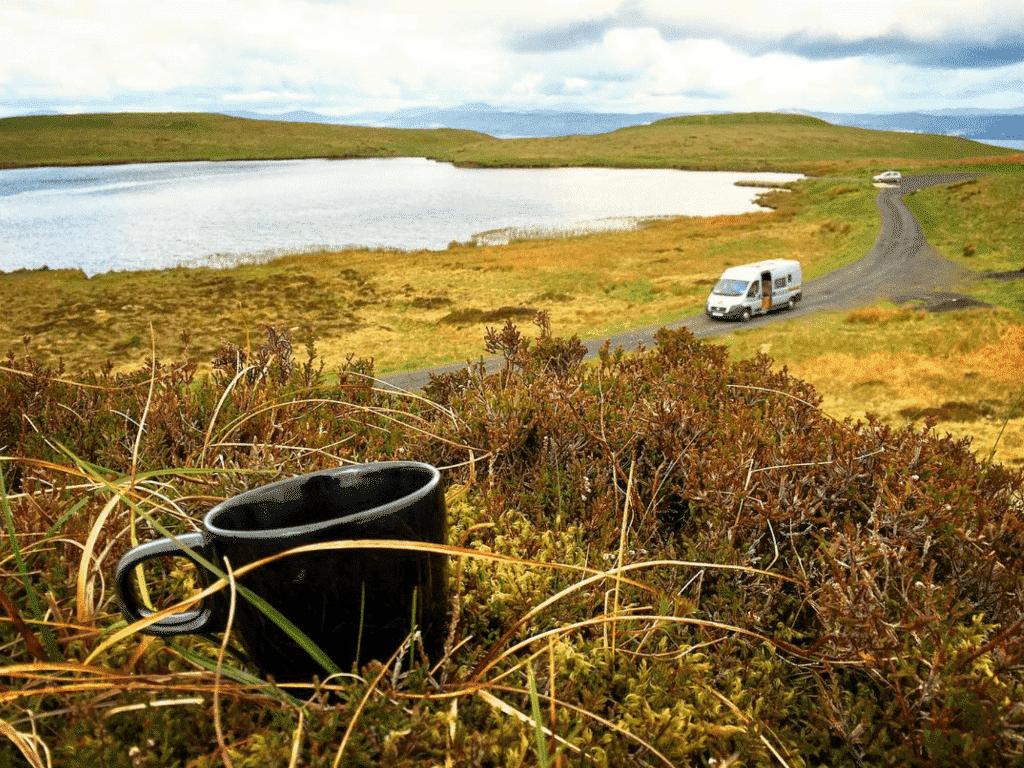 dejeuner lac irlande du nord