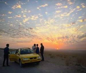 Coucher de Soleil Iran