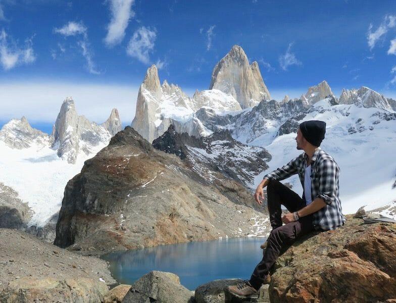 trek montagne fitz roy patagonie