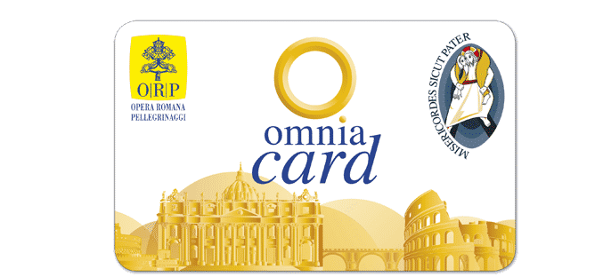 omnia card vatican 72h