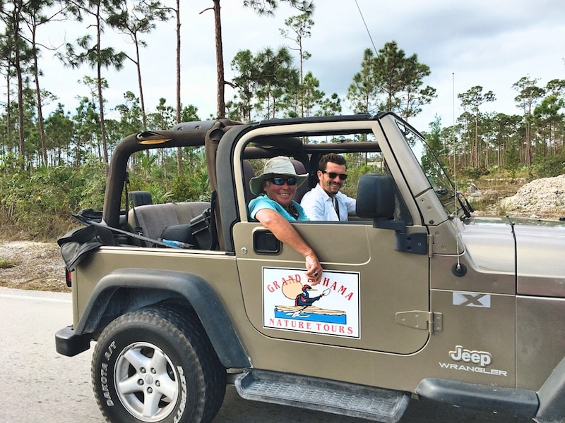 Jeep Tour Ile Grand Bahamas
