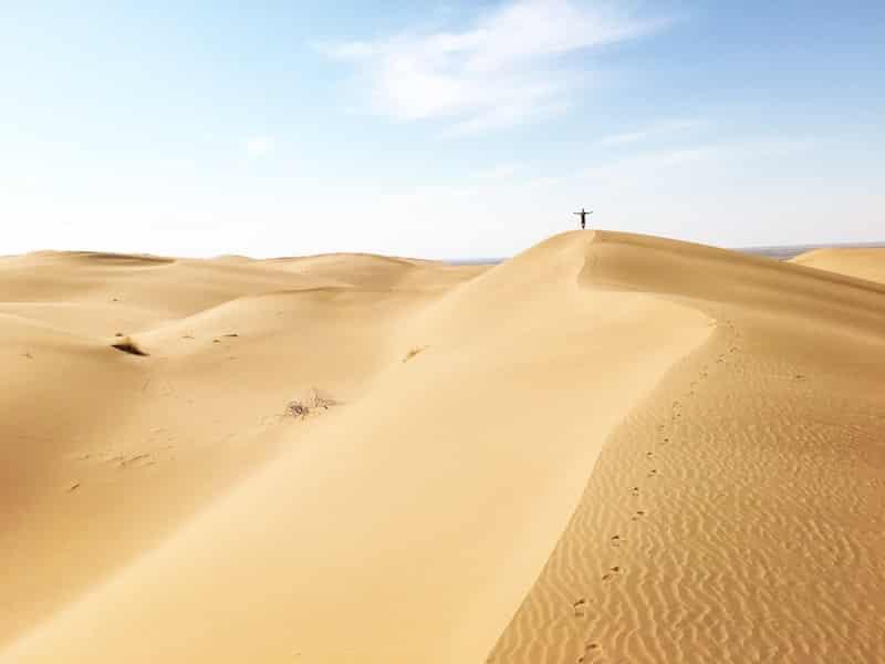 dune Desert du Maranjab iran