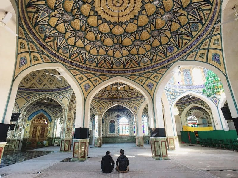 iran mosquee kashan