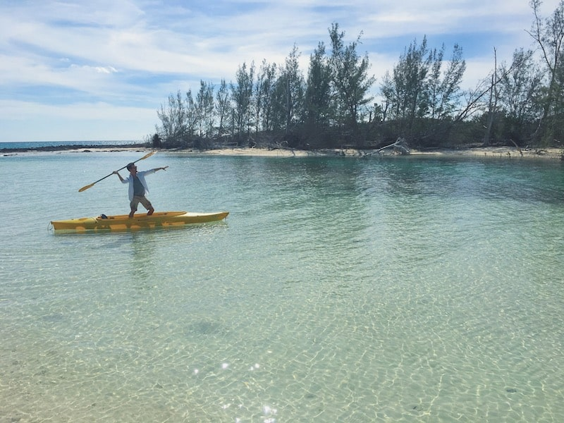 kayak ile Grand Bahamas
