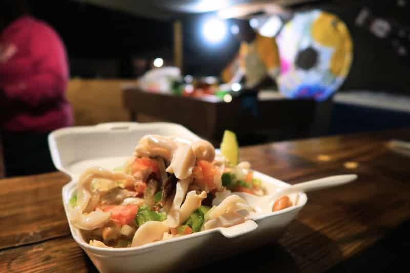 voyage aux bahamas salade de conque