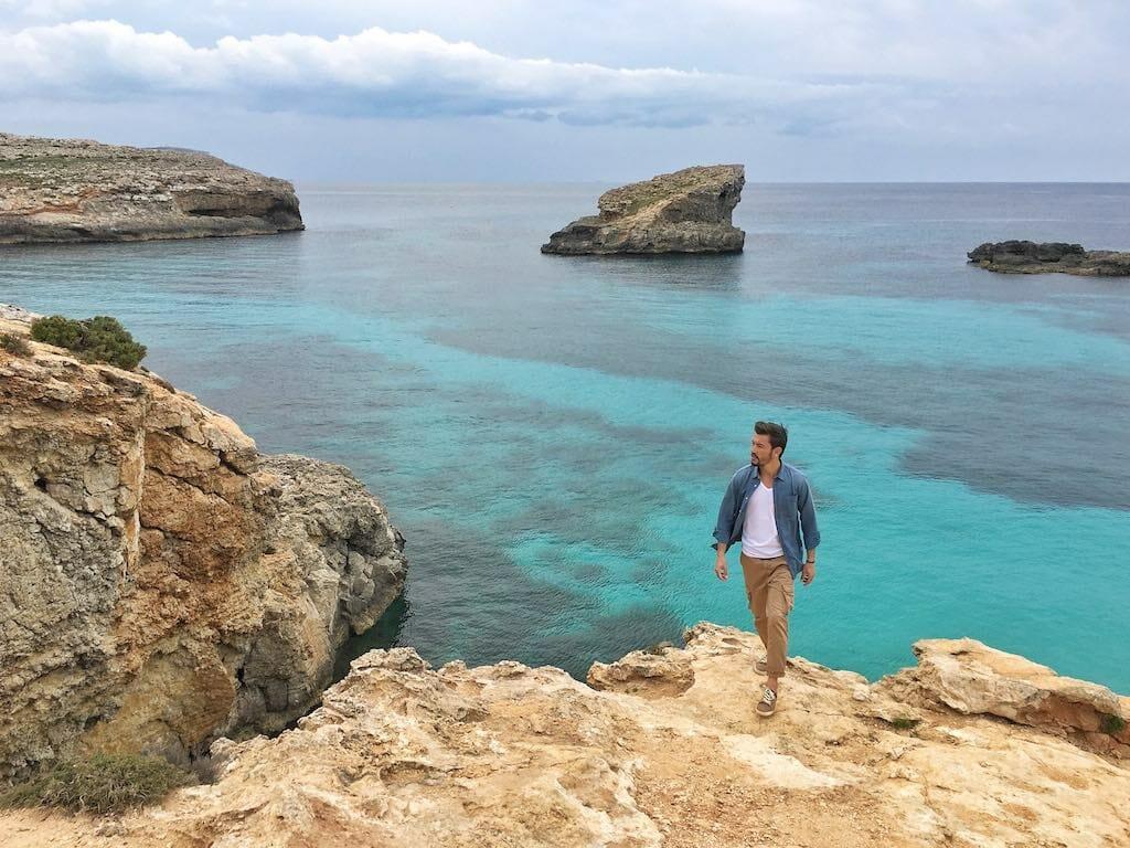 visiter malte et balade au blue lagoon de comino