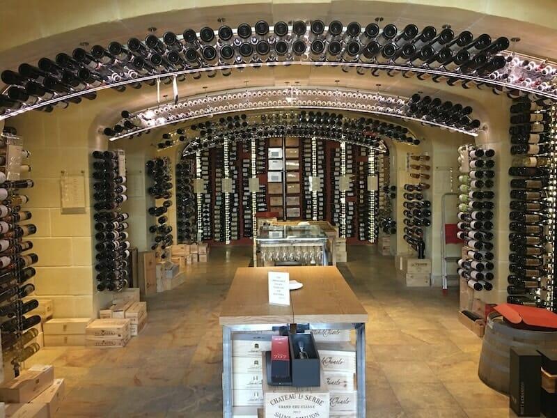 Le vignoble Vini e Capricci et sa boutique