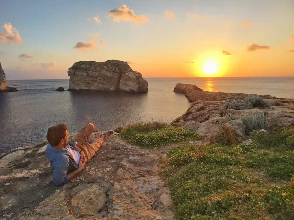 visiter gozo et son coucher soleil