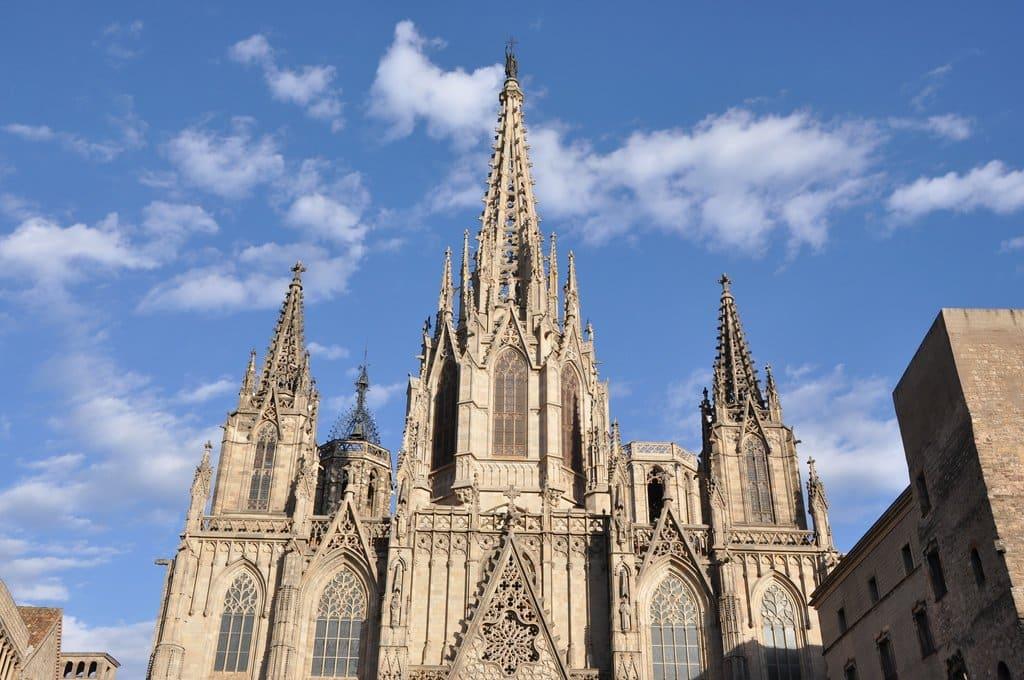 cathedrale santa creu barcelone