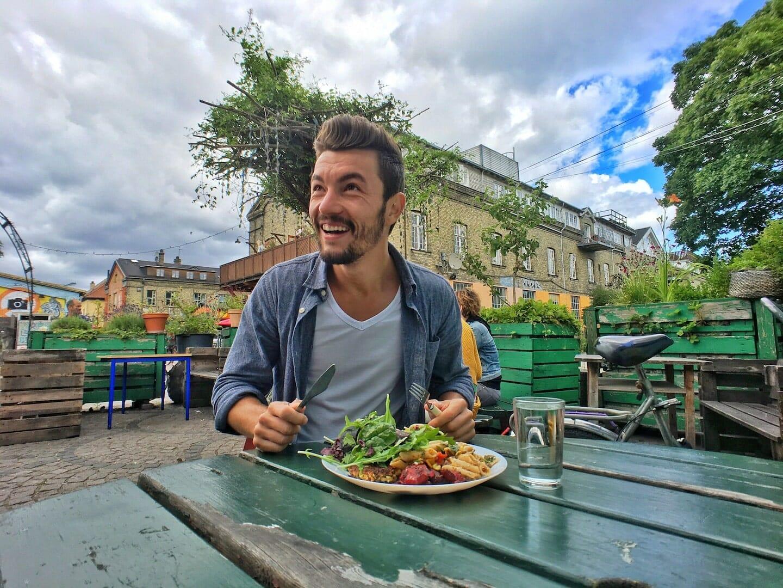 visiter copenhague et la quartier Christiania