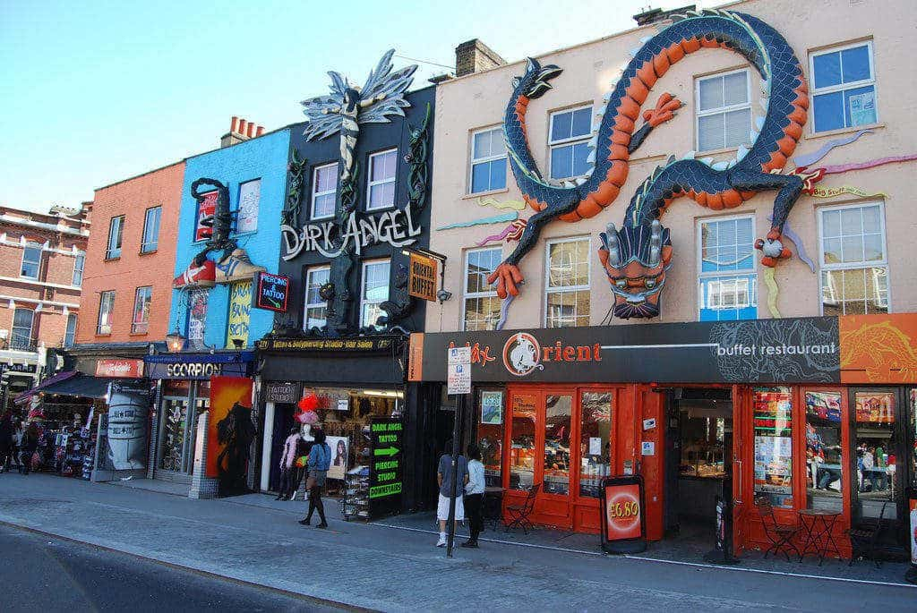 marche camden town londres