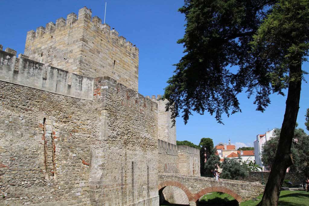 chateau saint gorges de lisbonne