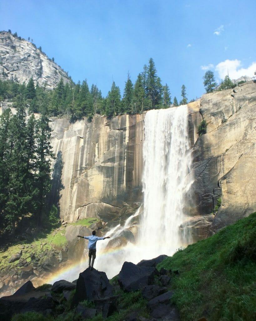 cacades Vernalls Yosemite