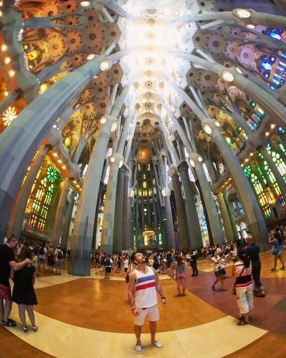 decouvrir sagrada Familia