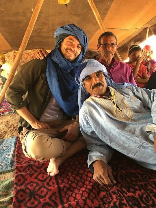 the sous la tente berbere maroc