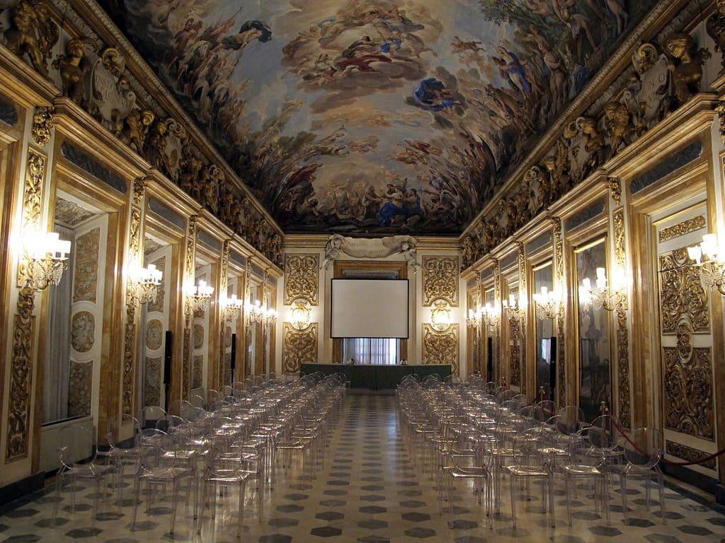Palazzo medicis riccardi gallerie veduta