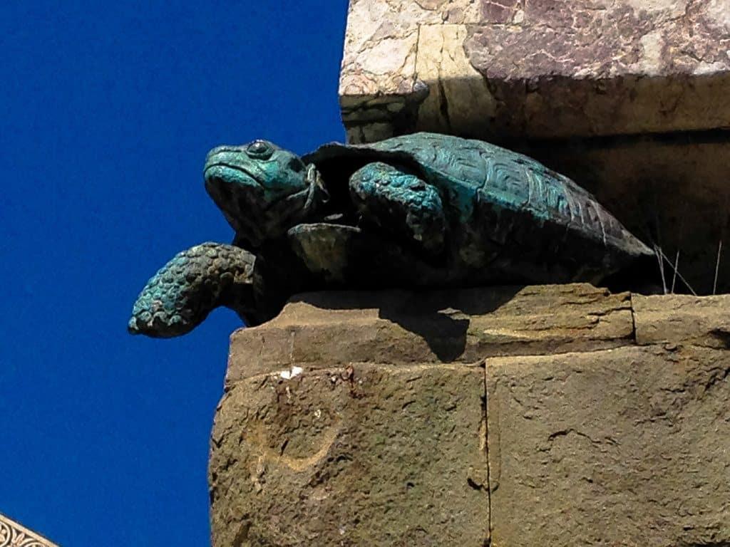 Florence basilique Santa Maria Novella Gargouille