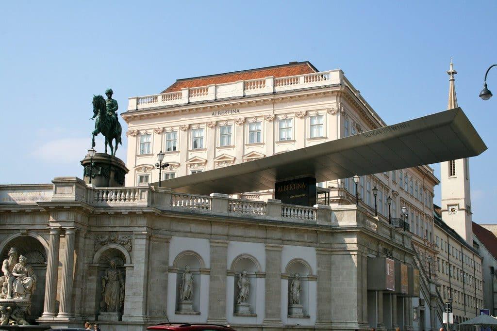 Vienne très beau musée dans le palais Albertina