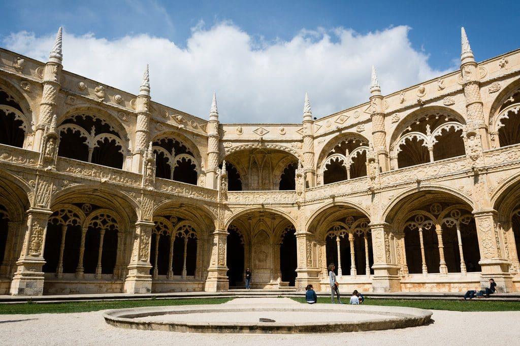 itinéraire de visite de Lisbonne quartier de Belem et vue sur le monastère