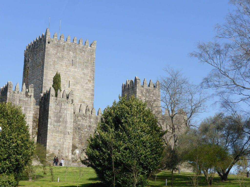 Guimaraes classée à l'UNESCO et son château