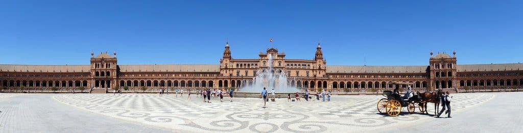 Séville la magnifique Place d'Espagne