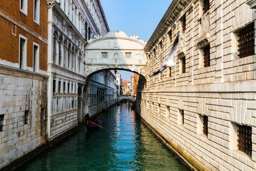 Venise le magnifique pont des Soupirs