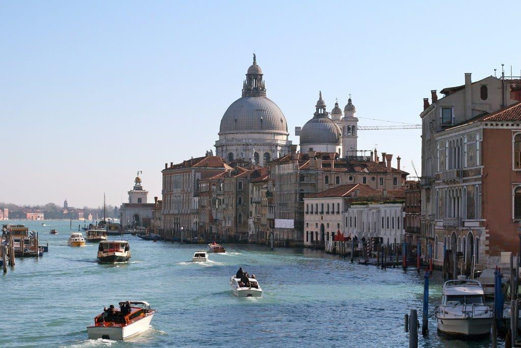 Venise l'Eglise Santa Maria della Salute