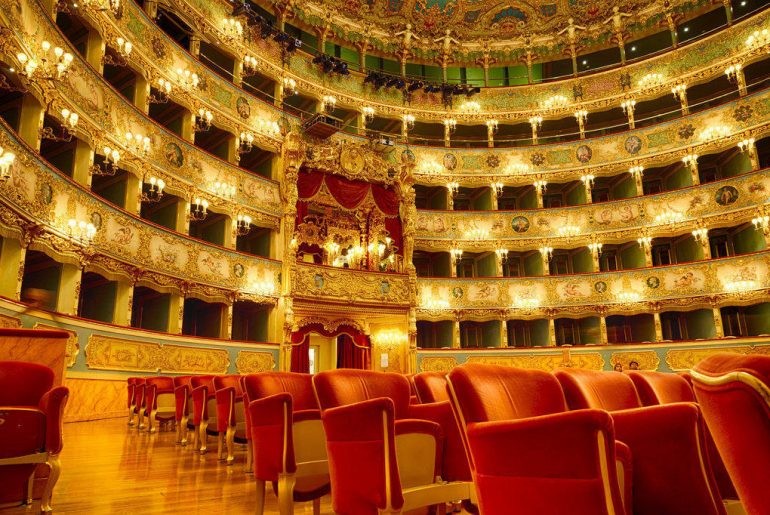 Venise Le superbe Théâtre Fenice