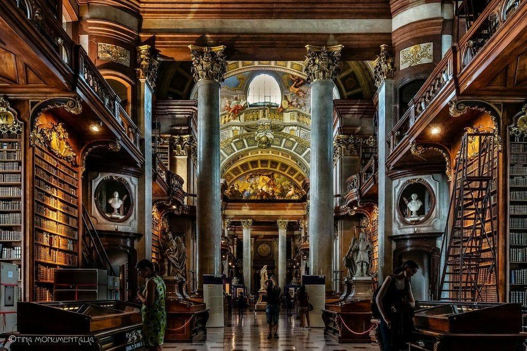 Vienne La Bibliothèque Nationale
