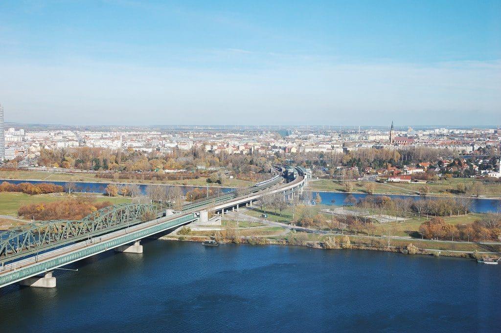 Vienne le fleuve Danube