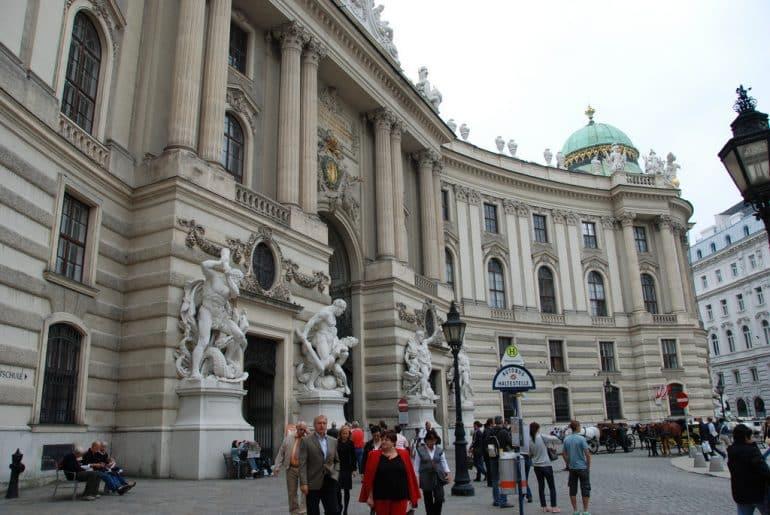 Vienne le château Hofburg et ses appartements impériaux