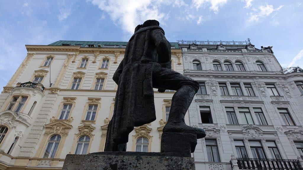Vienne le musée juif et la Judenplatz