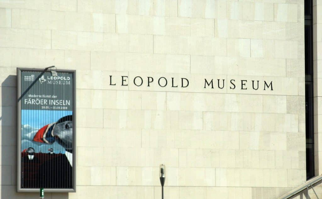 visiter vienne musée Léopold