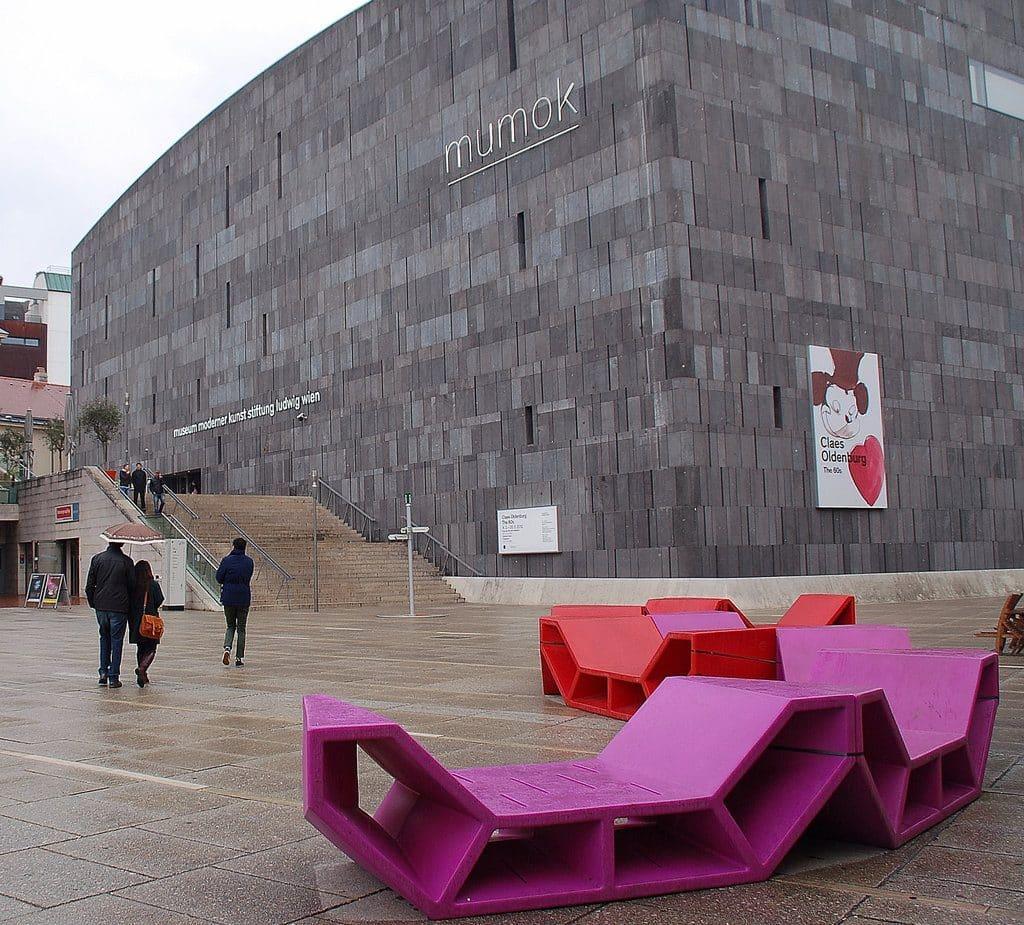 Vienne Le musée d'art moderne MUMOK