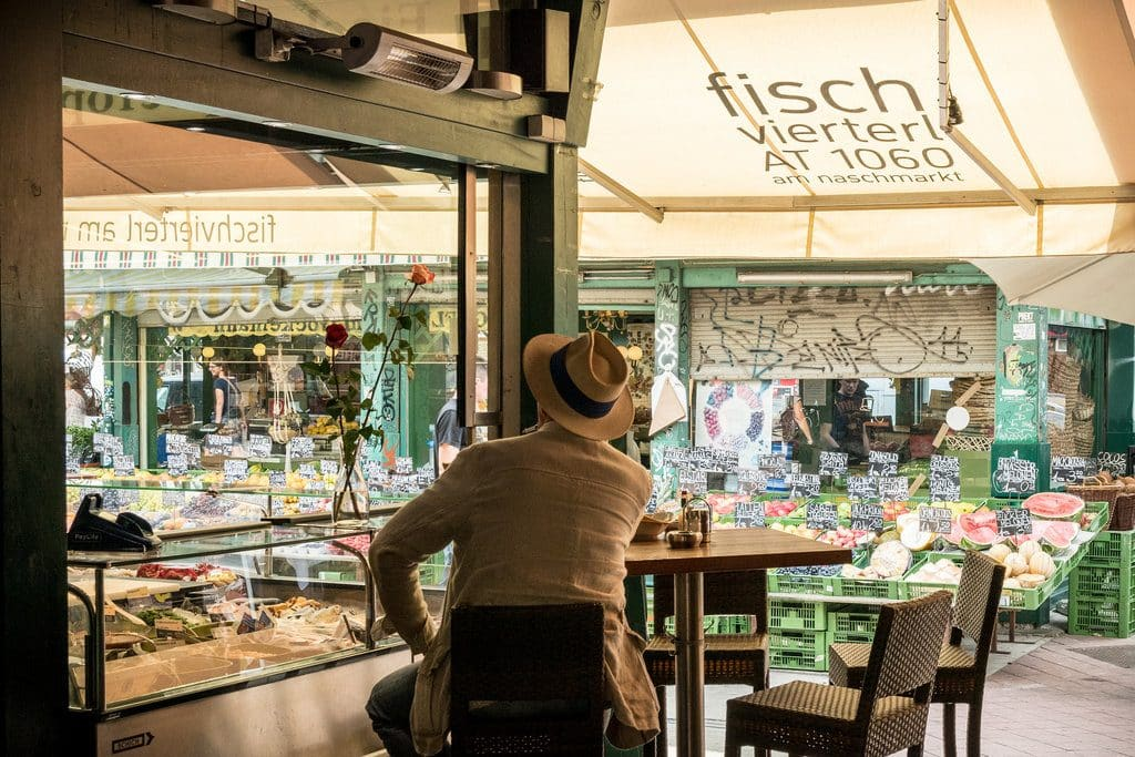Vienne son marché permanent