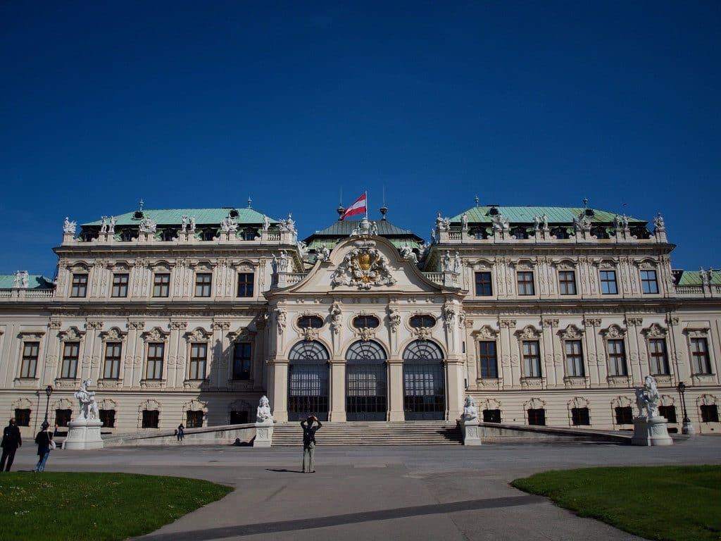visiter Vienne le palais Belvédère