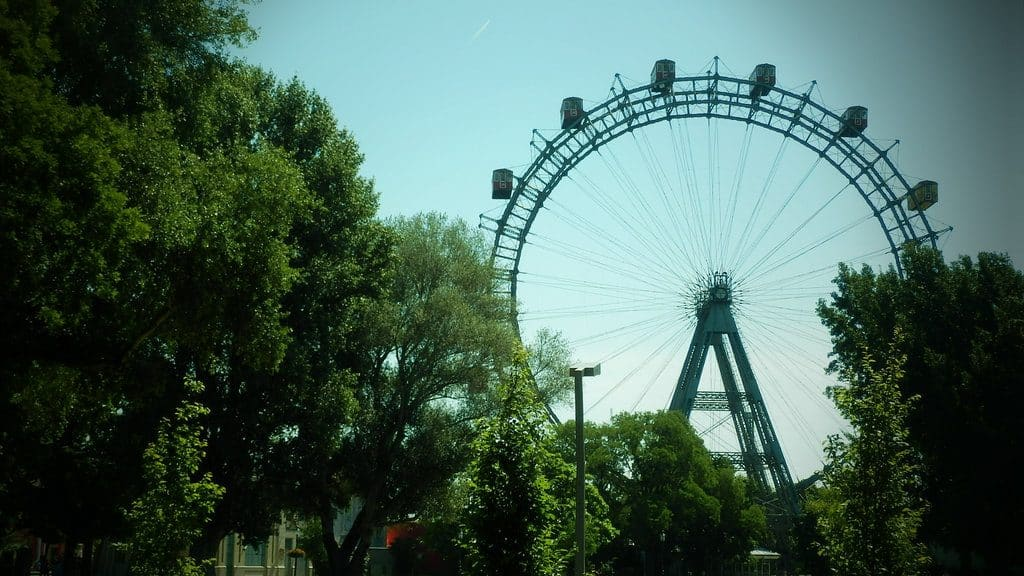 Vienne le parc du Prater et sa célèbre grande roue
