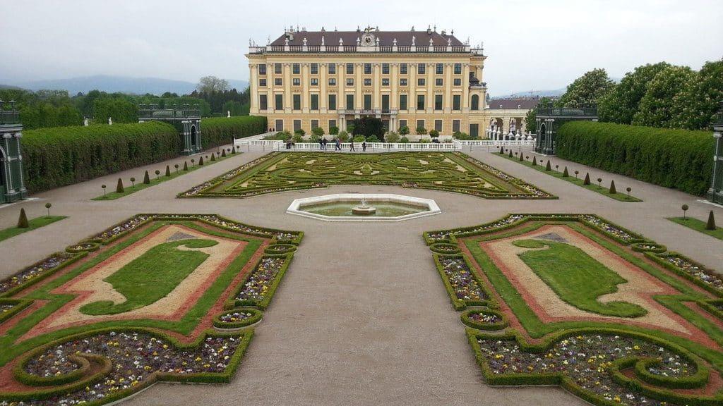 visiter vienne le château de Schonbrunn