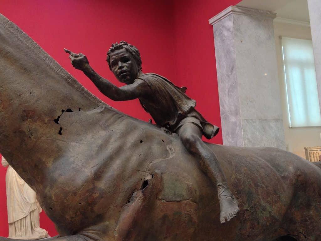 Athènes le musée nationale archéologique grec